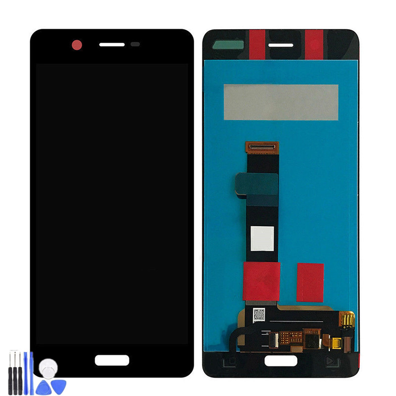 For <font><b>Nokia</b></font> <font><b>5</b></font> N5 TA-1027 TA-1044 TA-1008 TA-1030 TA-<font><b>1053</b></font> LCD Display With Touch Screen Digitizer Sense Assembly Free Shipping image