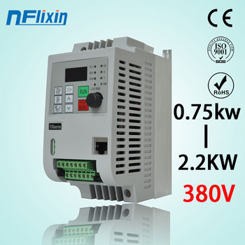 NF9100 Mini VFD 380v 0.75KW/1.5KW/2.2KW/4kw Variable Frequency Drive Converter for Motor Speed Control Suitable