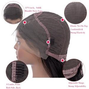 Image 5 - MOBOK brazylijski ludzkich włosów Afro perwersyjne kręcone zamknięcie 8 20 Cal 4*4 część darmowe koronka zamknięcie naturalne kolorowe włosy typu remy tkania 1 sztuk/partia