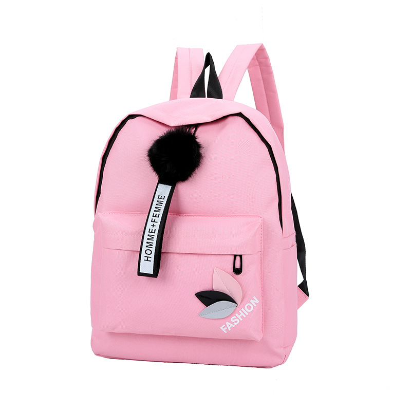 Women Backpack Female's Canvas School Bags For Teenage Girls New Fresh Large Capacity Travel Bag Women's Leaves Backpack