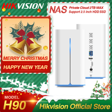 Hikvision HikStorage NAS Private Cloud Sharing Network Attached Storage Server for Home support HDD/SSD 2.5 inch H90