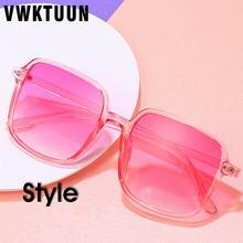 Квадратные Солнцезащитные очки vwktuun женские креативные солнцезащитные