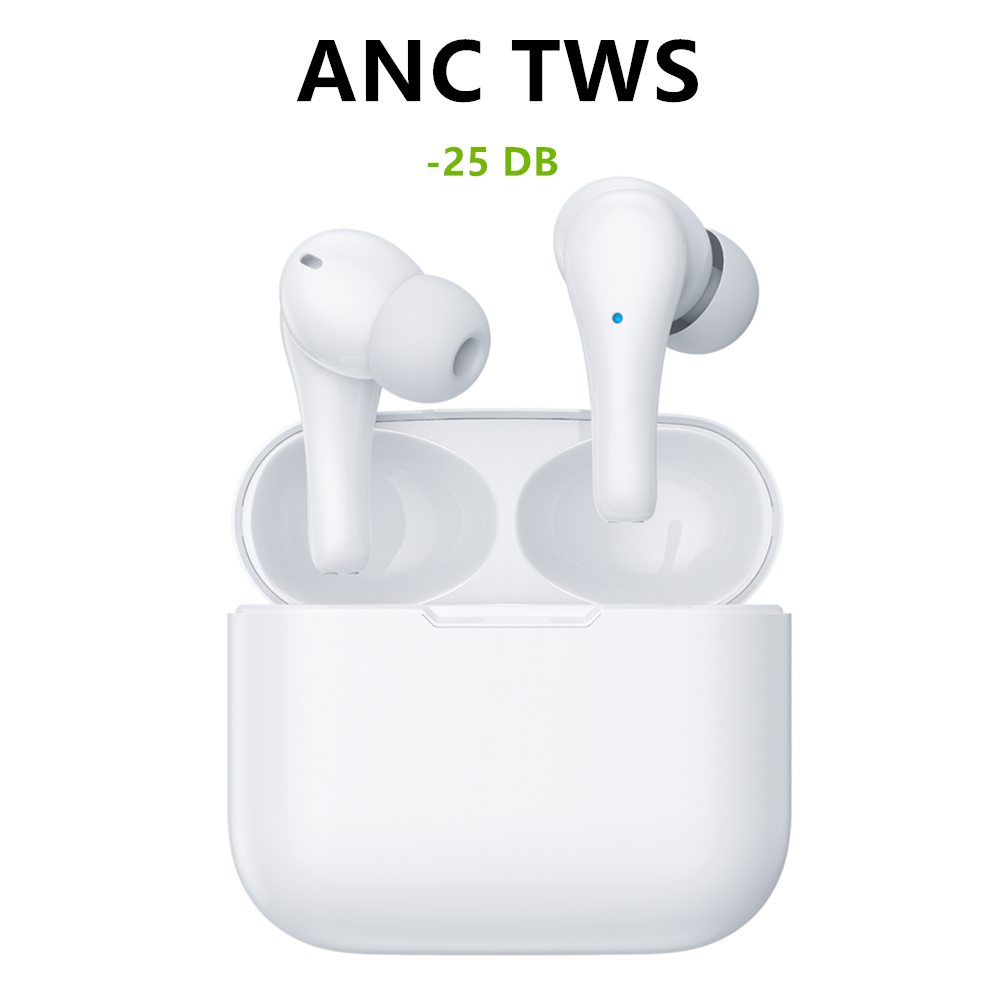 Noise canceling headphone <font><b>tws</b></font> <font><b>earbuds</b></font> audifonos bluetooth earphone inalambrico auriculares wireless earphones transparency mode image