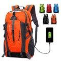 Школьный ранец с USB-зарядкой для мужчин и женщин, вместительная уличная сумка для альпинизма, спортивный удобный дорожный портфель, 2020