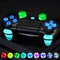 Многоцветная светящаяся D-pad L1 R1 R2 L2 триггер Thumbstick Home Face Buttons DTFS (DTF 2 0) светодиодный комплект для контроллера PS4 CUH-ZCT2