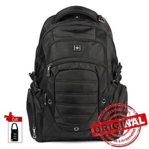 Image 1 - Sırt çantası askeri erkek çok fonksiyonlu büyük seyahat not defteri sırt çantası erkekler su geçirmez Laptop çantası sırt çantası Mochila Masculina SW9275I