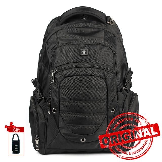 Sırt çantası askeri erkek çok fonksiyonlu büyük seyahat not defteri sırt çantası erkekler su geçirmez Laptop çantası sırt çantası Mochila Masculina SW9275I