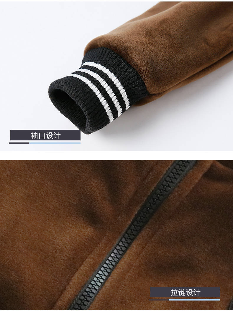 Menino terno de lã de três peças