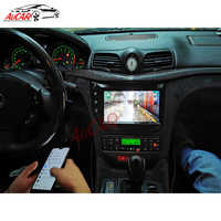 """AuCAR 9 """"z systemem Android 1 DIN multimedialny samochodowy radio stereo dla Maserati GT/dh GranTurismo 2007-2017 GPS nawigacja auto jednostka główna"""