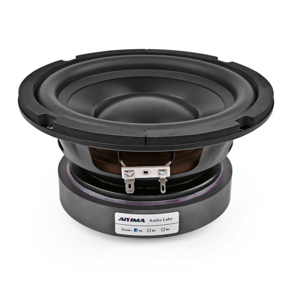 AIYIMA 6.5 Inch Subwoofer Speaker Driver Car Audio High Power 4 8 Ohm 100W HIFI Fever Woofer Loudspeaker Bass Home Theater