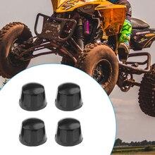 4 шт. резиновые пылезащитные гайки, защита от пыли, защита от пыли для 50cc 70cc 110cc 125cc Quad Bike ATV Pit Dirt Bike UTV мотоцикл и т. Д