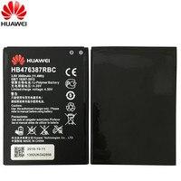 Hua Wei 100% 원래 HB476387RBC 배터리 화웨이 명예 3X G750 B199 교체 전화 Batteria 3000mAh 실제 용량 Akku
