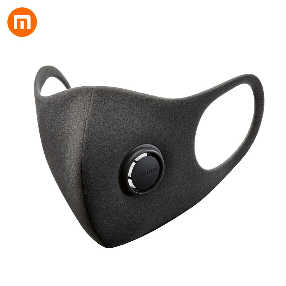 Fast Shipping Xiaomi Smartmi Filter Mask Block PM2.5 Material With Ventilating Valve Long-lasting TPU Filter Mask Mouth Cover