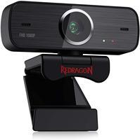Redragon GW800 1080P Webcam mit Gebaut-in Dual Mikrofon 360-Grad Rotation-2,0 USB Skype Computer web Kamera