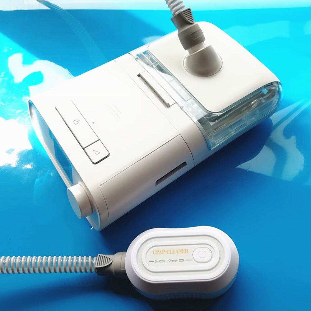 Przenośny CPAP Cleaner ozon Respirator dezynfektor pomoc w leczeniu zaburzeń snu oddychanie oczyszczacz powietrza Respirator dezynfekcja maszyna
