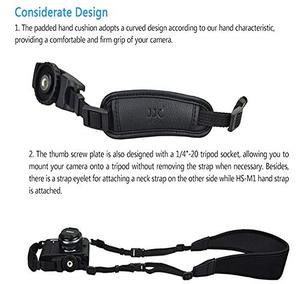 Image 5 - PU Leather Hand Strap Belt Camera Grip Wrist Quick Install For Canon EOS 250D 200D M6 Mark II RP R M50 M200 M100 M10 M5 M3 M2 M
