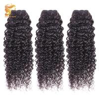 AOSUN Связки малайзийских волос итальянская кудрявая волна 100% человеческие волосы для наращивания 3 шт./лот remy волосы Natrual цвет 8-28 дюймов