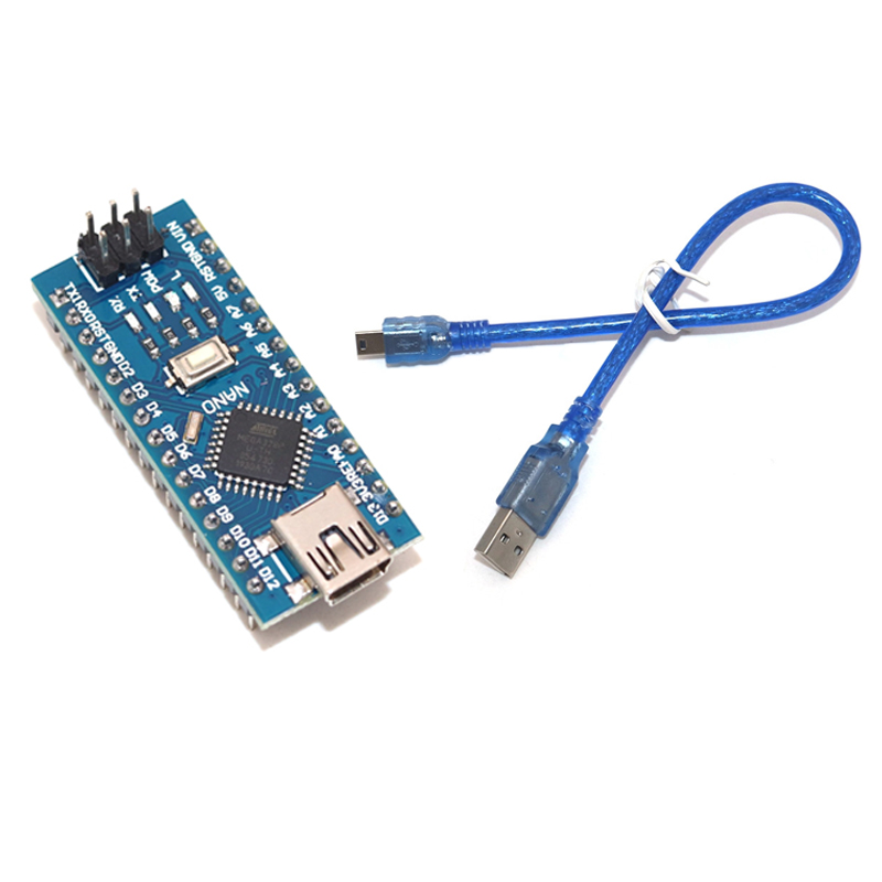 Контроллер Nano 3,0 Для arduino CH340, USB драйвер 16 МГц, Nano v3.0 ATMEGA328P Nano, совместим с Загрузчиком Интегральные схемы      АлиЭкспресс
