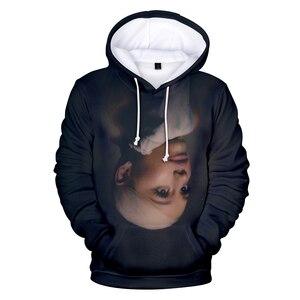 Image 5 - 2019 Nieuwe 3D Ariana Grande Dank U Volgende Hoodies Sweatshirt Vrouwen/Mannen Vrouwen Casual 3D Ariana Grande Hoodies Sweatshirts XXS 4XL