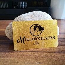 Матовая прозрачная визитная карточка на заказ блестящая золотая голограмма серебряная печать пластиковая карта образец печать