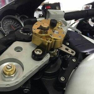 Image 5 - Ammortizzatore di sterzo Stabilizzatore Per SUZUKI GSX1300R HAYABUSA 2008 2020 19 18 Regolabile Moto Staffa di Accessori Inversione di Sicurezza