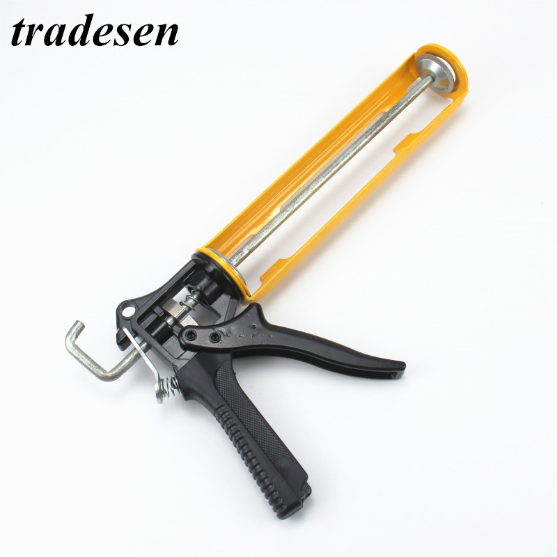 Glass Tools Save Pressure Industrial Glue Caulking Gun Cartridge Sealant 360 Degree Rotatable Durable