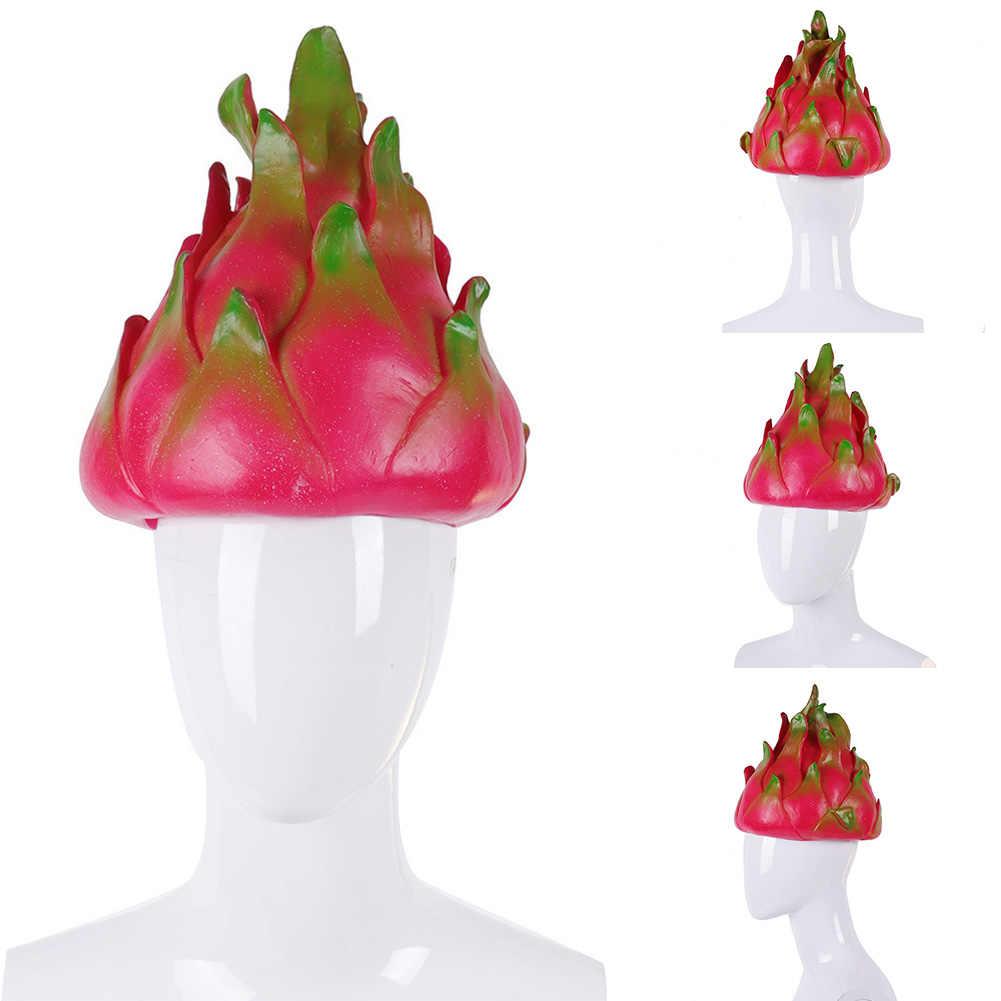 Рождество Хэллоуин силиконовый дракон фрукты Моделирование реквизит косплей платье Вечерние шляпы милый фестиваль костюм мяч маскарадная Кепка