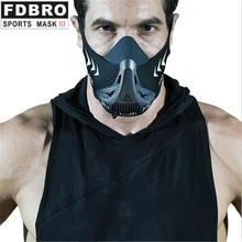 Sports Mask for Oxygen-Blocking and Oxygen-Controlling Adjustable Fitness Endurance Mouth-Muffle