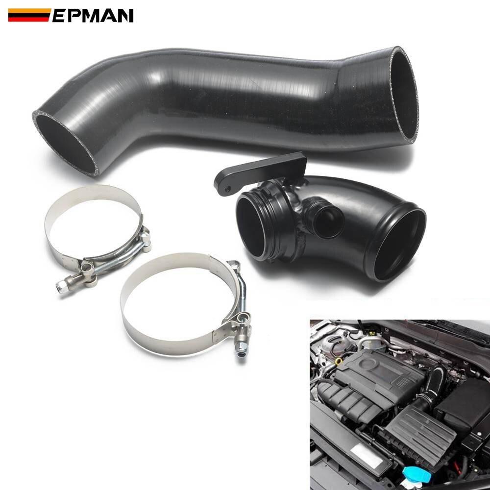 EPMAN Black /& Purple 3.13 80mm 90 Degree Elbow Silicone Hose Pipe Turbo Intake EP-SS90RS80