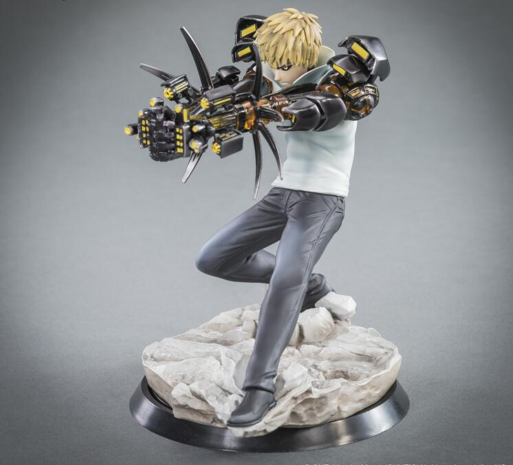 15cm ONE PUNCH MAN Genos Action Figure Quality Toys Collection Figures For Friends Gifts
