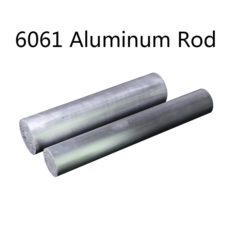 6061 Aluminum Alloy Rod Hard Solid Aluminum Round Rod Diameter 5/6/8/10/14/15mm Rod Processing