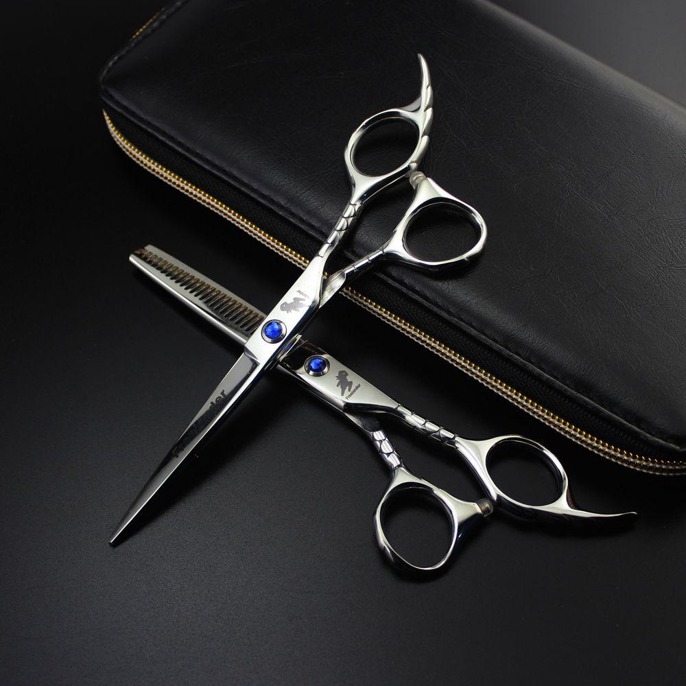 Freelander Hair Scissors Sets 6 Inch 440C Stainless Steel Professional Salon Barbers Cutting Scissor Hairdressing  Scissors