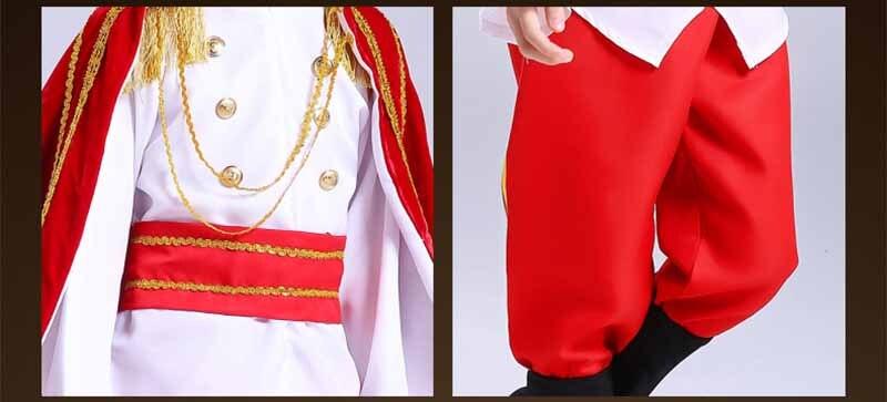 Купить с кэшбэком Fantasia Boys Kids  King Prince Costume Halloween Carnival King Cosplay Costume Birthday Gift Fancy Dress For Kids&Adult 2-13T