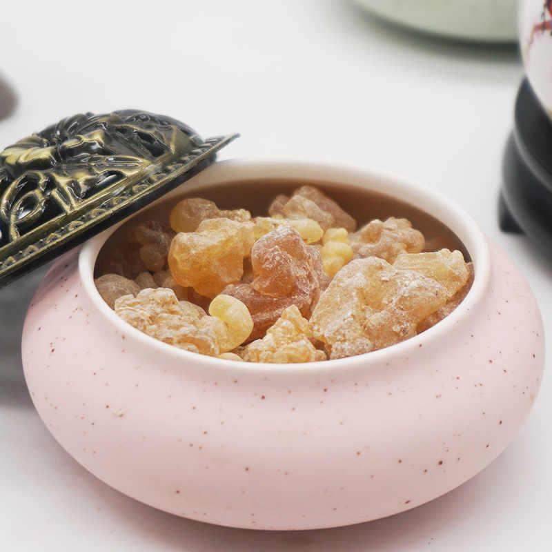 10 جرام عمان اللبان المغسل فرانك البخور الطبيعي الراتنج البخور البرتقال نكهة اليوسفي لرائحة والطب S
