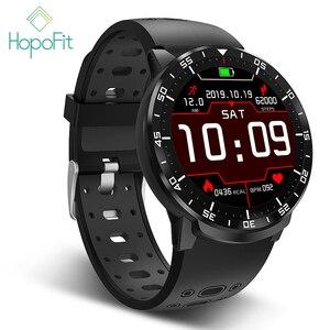 Image 1 - HopoFit Z05 חכם שעון גברים מלא מגע גשש כושר קצב לב צג צמיד עמיד למים IP67 גברים נשים אנדרואיד iOS