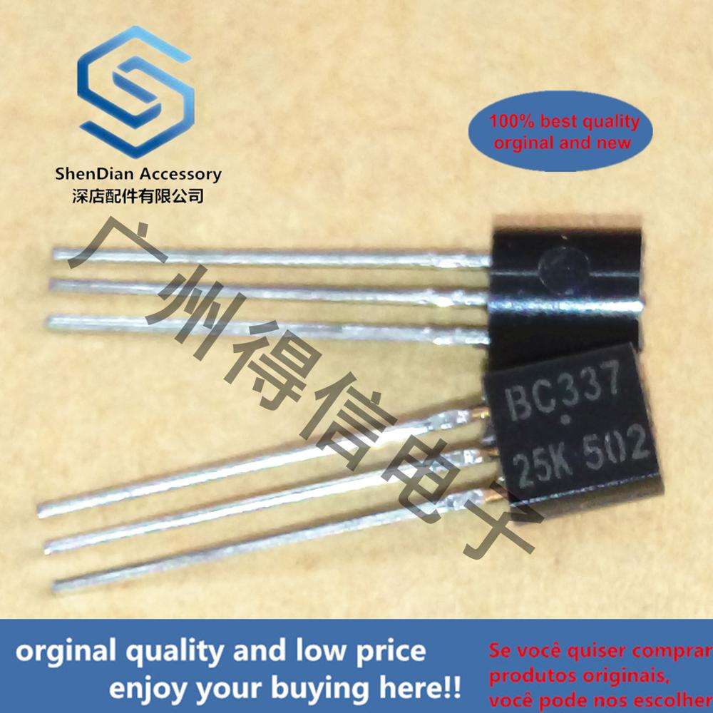 30pcs 30pcs 100% Orginal New BC337-25 BC337 337 TO-92  TO-92 Plastic-Encapsulate Transistors (NPN)  Real Photo