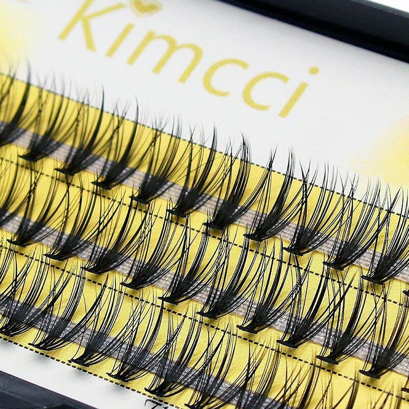 Накладные ресницы Kimcci, 60 прядей натуральных 3D ресниц, русский объем, искусственные норковые ресницы, индивидуальные 20D Кластерные ресницы, макияж, ресницы, Топ|Накладные ресницы|   | АлиЭкспресс - Топ товаров на Али в мае