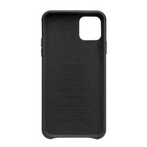 Image 3 - QIALINO יוקרה אמיתי עור טלפון כיסוי עבור אפל iPhone11 פרו מקסימום 6.5 אינץ אופנתי קל במיוחד בחזרה מקרה עבור iPhone 11 /11Pro