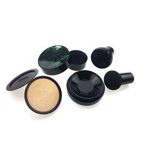 Image 2 - Hongo Head Seal Puff vacío CC BB Cream funda con absorción de impactos en las esquinas con soplo de polvo para recarga DIY contenedores cosméticos tarro cosmético Set