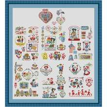 The great history of alsace counted cross stitch 11ct 14ct 18ct
