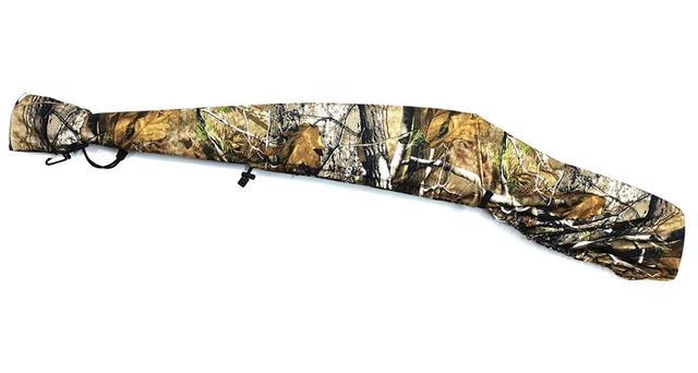 Gun Slicker Scoped Rifle Case, Water Resistance Camo Shotgun Case, Rifle Sleeve Cover Fast Gun Case for Shooting Hunting 5