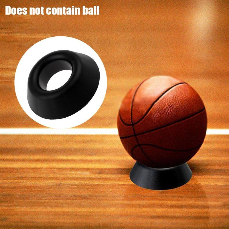 1Pcs Crafts Ball Holder Ball Pendulum Ornament Basketball Football Base Plastic Practical Display Stand Basketball Ball Support
