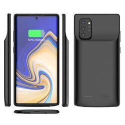 Para Samsung Galaxy Note 10 Plus Caso Carregador de Bateria Externa 6000mAh Backup Carregador Power Bank Capa Protetora Note10 Nota 10 +