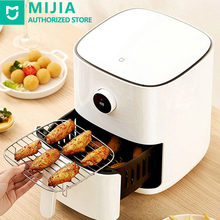 Xiaomi Mijia Multifunction Smart Air Fryer 3.5L Oven Accessories Large Capacity OLED Screen 24-Hour Cooking Healthy Fried White
