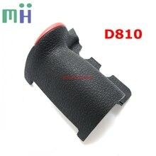 Para nikon d810 grip borracha capa frontal assy câmera substituição peça de reposição