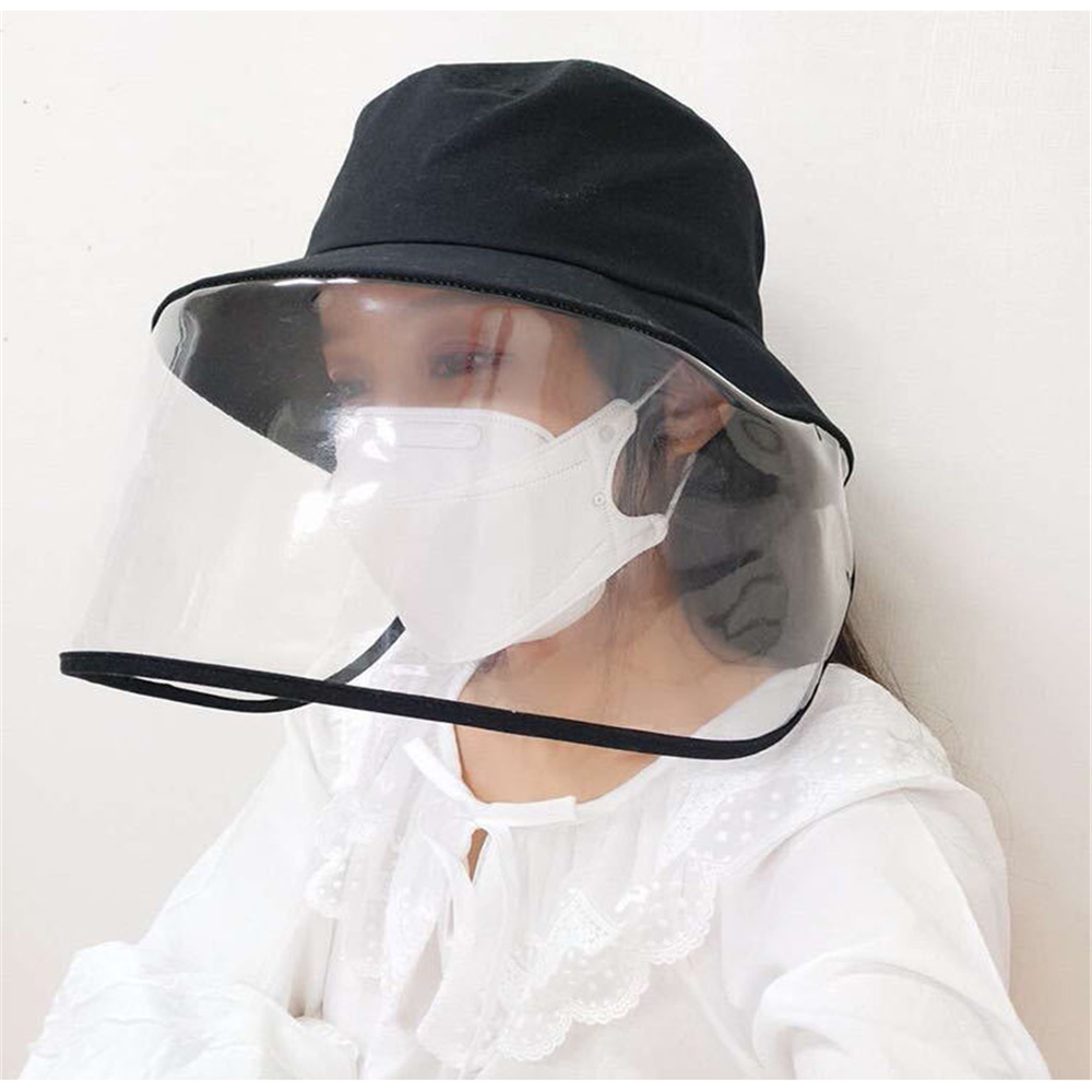 Anti-Dust And Anti-Fog Hat Adjustable Coronavirus Mask Anti-spitting Protective Hat Dustproof Cover Masque Anti Pollution D30 5