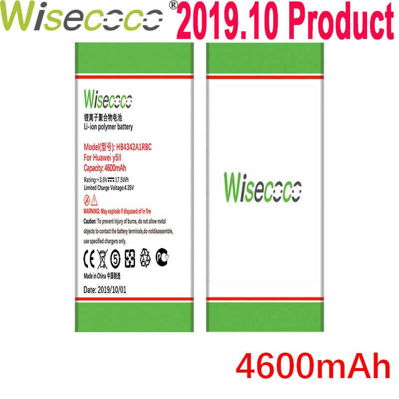 Wisecoco 4600 MAh HB4342A1RBC Pin Dành Cho Huawei Y5II Y5 II 2 Ascend 5 + Y6 Honor 4A SCL-TL00 Cho Honor 5A LYO-L21 Điện Thoại Di Động