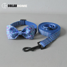 Pretty dog collar for small medium Mermaid pet leash traction rope cat puppy necklace straps anti-lost running