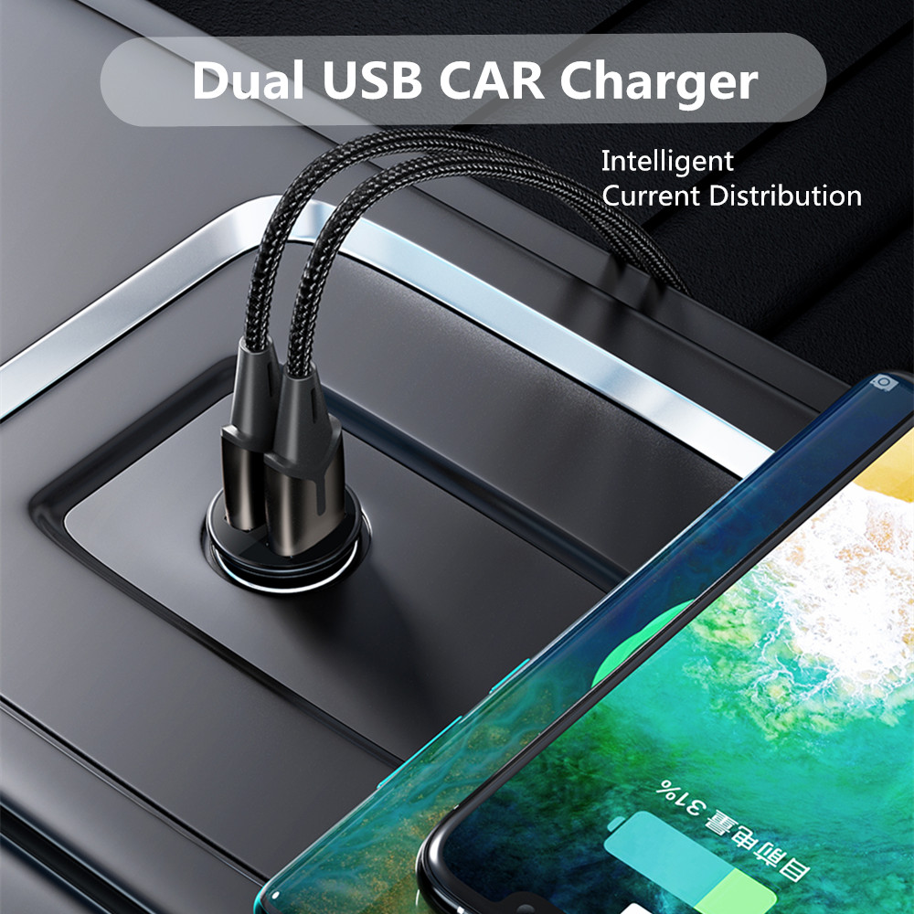 cheapest USB Car Charger 4 8A Mini Car Phone Charger Accessories For Volvo XC60 XC90 S60 V70 S80 S40 V40 V50 XC70 V60 C30 850 C70 XC 60