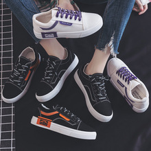 New Women Shoes Flats Canvas Shoes Woman Sneakers Women Oxfords Lace-Up Mixed Colors Zapatos De Mujer Shallow High Quality